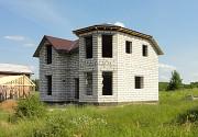 Новый пеноблочный дом рядом с озером Плещеево
