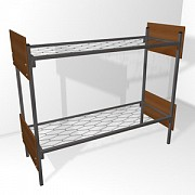 Крепкие и надежные кровати металлические для домов отдыха, турбаз
