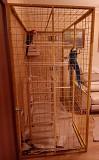 Клетка-вольер для больших птиц- попугаев. сов, ворон.
