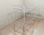 Купить у производителя кровати металлические в бытовки