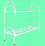 Высокопрочные кровати металлические двухъярусные с лестницами