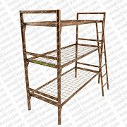 Со спинками и боковушками металлические кровати