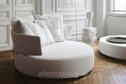 Оригинальный диван круглой формы на заказ недорого