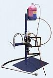 Дозатор связующего для намотки и ручной формовки.