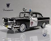 Полицейские машины мира №1 FORD FAIRLANE TOWN SEDAN 1956